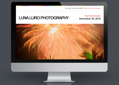 Delgado Designs Lluna Email Feature